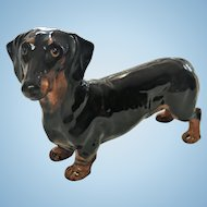 "Royal Doulton HN1129 Dachshund champion ""Shrewd Saint"""