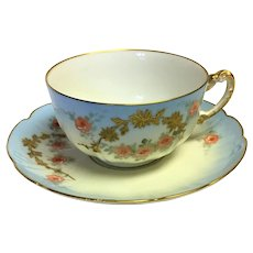 Vintage Limoges Teacup set from William Guérin Co.