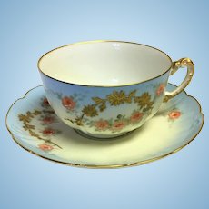 Vintage Limoges Teacup set from William Guérin Co.