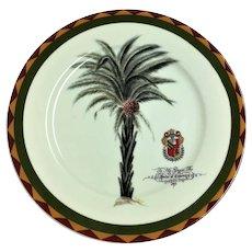 Limoges I. Godinger Duke of Coventry plate