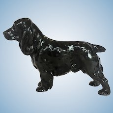 "Royal Doulton CH ""Lucky Star of Ware"" cocker spaniel"