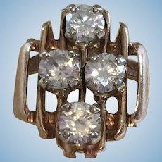 Vintage  diamond ring circa 1965
