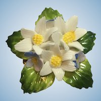 Vintage Bone China Brooch made in England