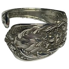 Vintage Richelieu by International Sterling spoon ring