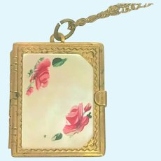 Victorian revival locket holds six photos