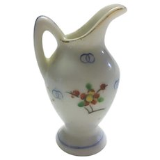 Vintage Bone china water pitcher 2 1/4 inch tall