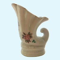 Vintage Made in Occupied Japan umbrella stand in painted china