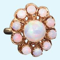 Vintage 14 kt gold Opal ring