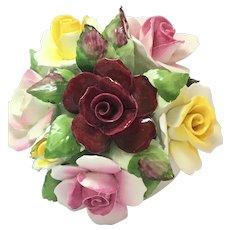 Royal Doulton small bowl of roses bone china