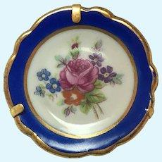 Vintage SA Limoges miniature hand painted plate