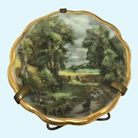 "Vintage Limoges France "" P Pastaud "" miniature plate"