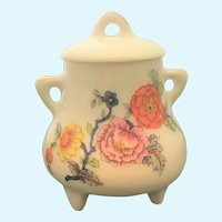 Vintage Limoges urn with lid from city of St. Emilium