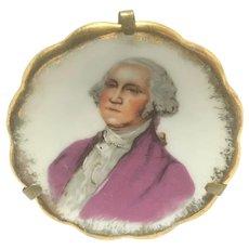 Limoges George Washington miniature plate