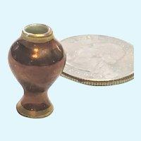Limoges antique miniature luster vase, 20 mm