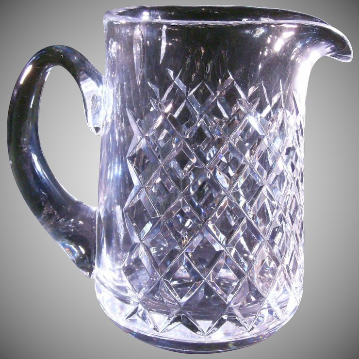 Waterford Lismore Pitcher 65 Inch Tall Gettemy Jewelers Ruby Lane