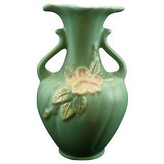 """Vintage Weller Pottery """"Blossom"""" Vase - Red Tag Sale Item"""