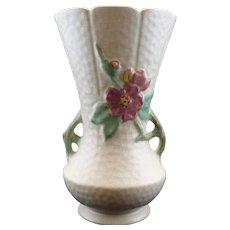 "Vintage Weller pottery tall  ""Delsa"" Vase"
