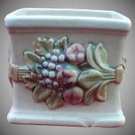 "Vintage Weller ""Roma"" Model Ceramic Planter"