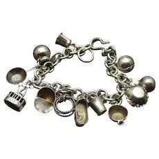 Vintage charm bracelet circa 1937