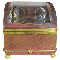 Antique Travel perfume casket circa 1840