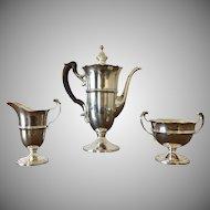 Vintage Redlich & Company Sterling silver tea/coffee set