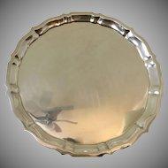 Vintage Gorham Sterling silver 14 inch platter from 1951