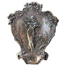 Antique Art Nouveau Waist coat button