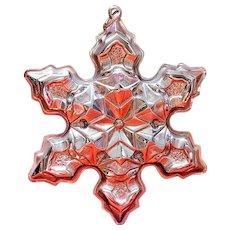 Gorham Sterling 1975 Christmas tree ornament