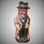 Royal Doulton Winston Churchill jug 8 inch tall
