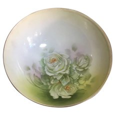 Beck and Boyer Royal Rudolstadt china bowl hand painted