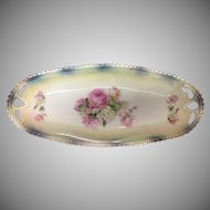 P.K. Silesia China Celery bowl with luster