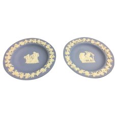 Two Wedgwood 1956 trinket dishes 4 1/4 inches wide