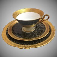 Jlmenau Teacup saucer and luncheon plate set