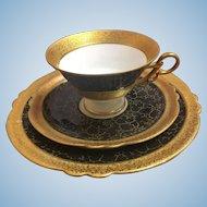 Jlmenau Teacup saucer and luncheon plate set