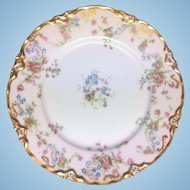 Eight matching Hutschenreuther 9 inch dinner plates