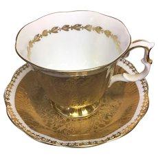 Royal Albert Buckingham Series teacup and saucer set