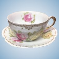 Z S & Co Marseille teacup and saucer set.