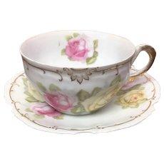 Z S & Co Marseille teacup and saucer set.