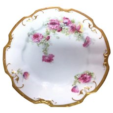 Limoges Coronet 9 inch plate