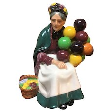 Royal Doulton the balloon seller HN1315, minor chip
