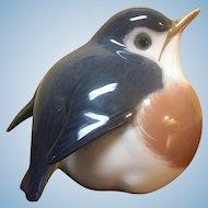 Royal Copenhagen blue robin #2266
