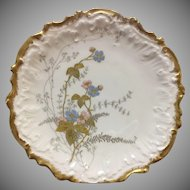 Vintage L S & S Limoges 7 inch plate