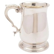 Edwardian Silver Tankard, London 1902