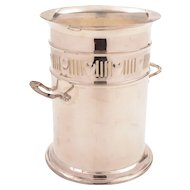Edwardian Silver Plated Soda Syphon Holder, Circa 1905