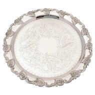Edwardian Silver Plated Tray, Circa 1905