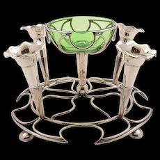 Edwardian Silver Plated Eperne, Circa 1905