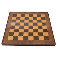 Victorian Wooden Chessboard, Circa 1880