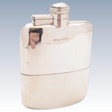 Silver Hip Flask, Sheffield 1918