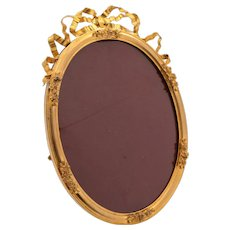 Large Brass Gilt Photo Frame, Circa 1890