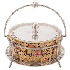 Spode China Preserve Dish, Circa 1900
